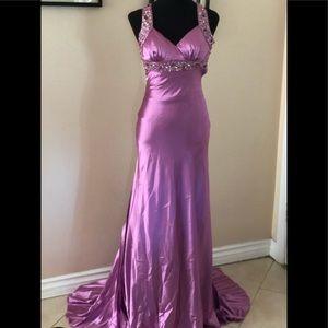 Beautiful silk gown